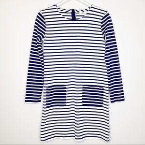 Vineyard Vines Girls Mixed Stripe Pocket Dress XL